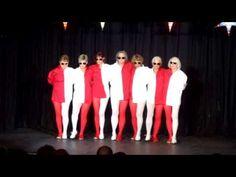optical illusion dance - YouTube