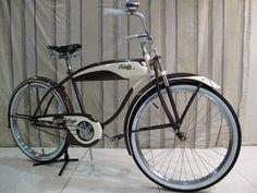 Old Bicycle, Cruiser Bicycle, Old Bikes, Vintage Cycles, Vintage Bikes, Antique Bicycles, Push Bikes, Cool Bicycles, Bike Design