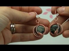 Making these earrings is a bit harder than some of me other viders, but it gives you great ideas in making earrings with very small beads,like seed beads. So...
