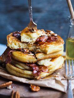 I kveldens episode er det gode frokoster som står i fokus. Tasty Pancakes, Granola, Blueberry, Waffles, French Toast, Oatmeal, Brunch, Food And Drink, Snacks