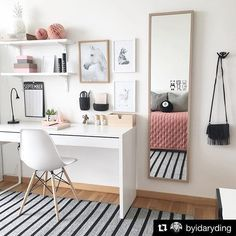 home workspace design inspirations; home office storage ideas for small spaces; home workspace design inspirations; home office storage ideas for small spaces; home office ideas; Built In Dressing Table, Dressing Table Organisation, Dressing Tables, Home Office Storage, Home Office Organization, Makeup Organization, Makeup Storage, Bedroom Desk, Room Decor Bedroom