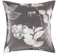 Denote a classical look in your home with the feminine florals captured in the warm hues of the cotton Ari European Pillow Case from Marie Claire. European Pillows, Vintage Theme, Quilt Cover Sets, Marie Claire, Linen Bedding, Pillow Cases, Tapestry, Quilts, Warehouse