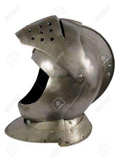 Pantser Van De Middeleeuwse Ridder. Metalen Bescherming Van De Soldaat Tegen Het…