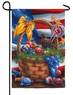 IAmEricas Flags - Patriotic Easter Garden Flag, $14.00 (http://www.iamericasflags.com/products/patriotic-easter-garden-flag.html)