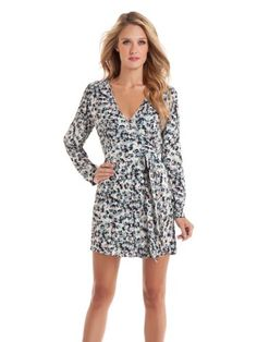 GUESS by Marciano Tricia Floral Wrap Dress « Dress Adds Everyday