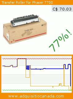 Transfer Roller for Phaser 7700 (Office Product). Drop 77%! Current price C$ 70.03, the previous price was C$ 309.60. https://www.adquisitiocanada.com/xerox/transfer-roller-phaser