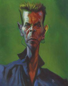 David Bowie - acrílico