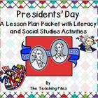Presidents' Day is a national holiday in the United States and celebrates all President. This packet celebrates Abraham Lincoln and George Washingt...