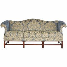 Chippendale Design Camel Back Sofa | From A Unique Collection Of Antique  And Modern Sofas At Http://www.1stdibs.com/furniture/seating/sofas/