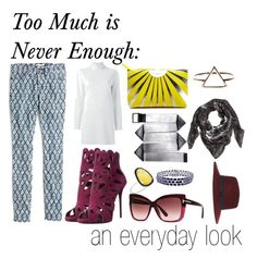 """Too Much is Never Enough: an everyday look"" by archetypallydresd-looks on Polyvore"