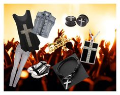 A fashion look from July 2013 featuring chemise top, vest waistcoat and zipper fly jeans. Browse and shop related looks. Paige Denim, Concerts, Shoe Bag, Polyvore, Stuff To Buy, Accessories, Shopping, Collection, Design