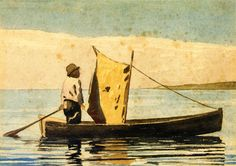 Boy In a Small Boat (Winslow Homer - 1880)
