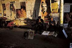 William Albert Allard | Street artists, Paris, 1986