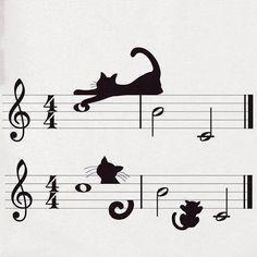 ...a little cat music...