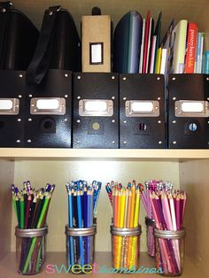 colored pencil storage