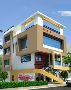 529 Best House Elevation Indian Compact Images In 2020