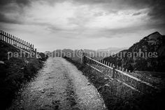 The Path  Fine Art Photography Black and by PatrickRabbatPhotos