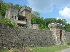 The Chateau Laroche (Loveland) - Also known as the Loveland Castle, this lovely little medieval structure was built by hand--brick by brick--by one man, Sir Harry Andrews. Today it is open for the public to view for $5 a person, and is operated by modern day knights.