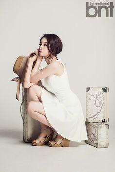 Jiyeon T-ara bnt International May 2014