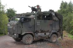 Mungo ESK (Einsatzfahrzeug Spezialisierte Kräfte) is an air-transportable, armoured multirole transport vehicle of the German Army for its Airmobile Operations Division and Division Special Operations.