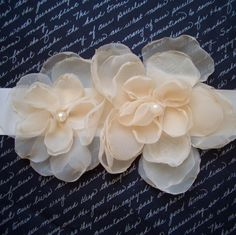 Possible bridesmaid sash