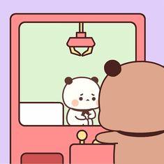 Cute Bunny Cartoon, Cute Cartoon Images, Cute Love Cartoons, Cute Cartoon Wallpapers, Cute Images, Cute Bear Drawings, Cute Animal Drawings Kawaii, Cute Love Gif, Cute Love Pictures