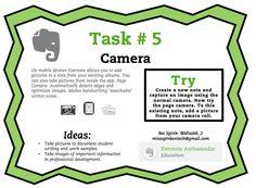 Evernote Task #5 Camera                                                                                                                                                                                 More