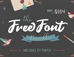 "Check out new work on my @Behance portfolio: ""Free Font Bundle (Worth $104)"" http://be.net/gallery/61525345/Free-Font-Bundle-(Worth-S104)"