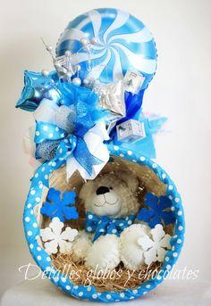 Baby Shower Gift Basket | Arreglo de Regalo pa ra recien nacido