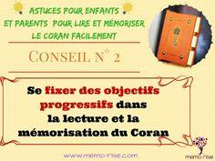 Se fixer des objectifs dans la lecture et l'apprentissage du Coran - memo-rise.com