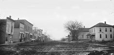 Downtown Hudson Iowa Photograph