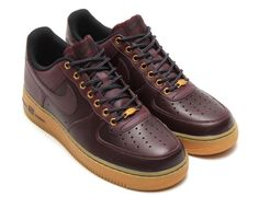 #Nike Air Force 1 Deep Burgundy #sneakers