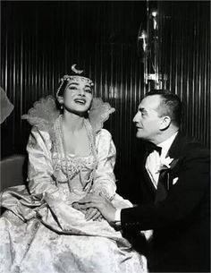 Luchino Visconti with Maria Callas