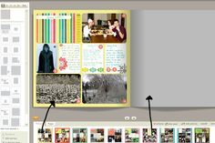 Great tutorial for printing digital project life books at Shutterfly