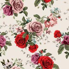Papel de Parede Floral 1573