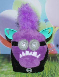Evil Purple Minion Costume Clothes Despicable Me 2 Fits Furby or Furby Boom
