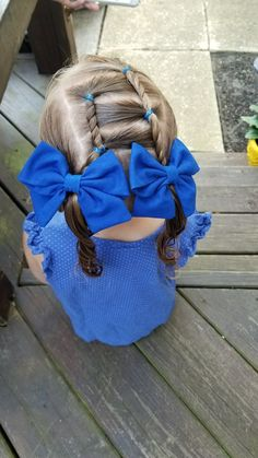 Cute rope twist for girl hairstyle - Coiffure 02 Easy Toddler Hairstyles, Lil Girl Hairstyles, Girls Hairdos, Princess Hairstyles, Pretty Hairstyles, Teenage Hairstyles, Hair Due, Rope Twist, Hair And Nails