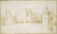 Walls Towers and Gates of Amsterdam by @artistbruegel #northernrenaissance