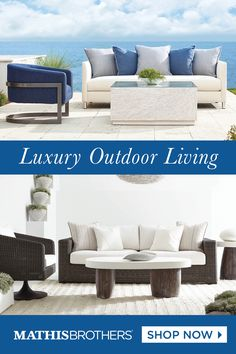 Check out these premium outdoor furniture pieces!