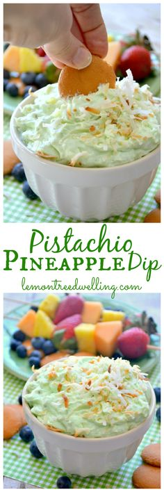 Pistachio Pineapple Dip | Lemon Tree Dwelling