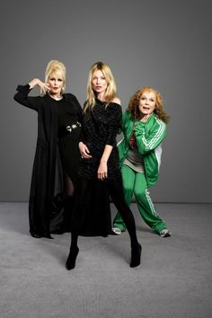 """Jennifer Saunders: """"The Spice Girls musical kept me going through breast cancer"""" Patsy And Eddie, Jennifer Saunders, Joanna Lumley, Tv Show Music, Ab Fab, Absolutely Fabulous, Simply Beautiful, Beautiful People, Spice Girls"""
