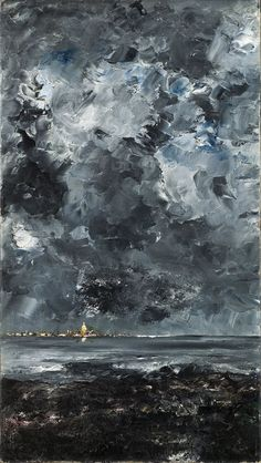 August Strindberg, the city in 1903