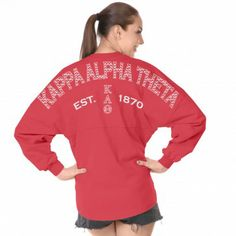 The official Spirit Jersey®; Shop select Spirit Jersey & Spirit Clothing Co. Kappa Delta, Kappa Alpha Theta, Phi Mu, Spirit Clothing, Clothing Co, Preppy Style, My Style, Sorority Sugar, Coral