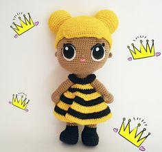 LOL Surprise Amigurumi Queen Bee