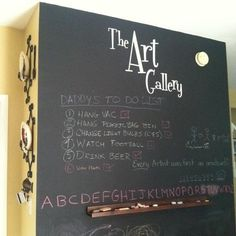 The Art Gallery Wall Decal Kids Art Display by OZAVinylGraphics