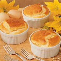 Three Cheese Souffle (Mothers Day)
