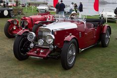 Aston Martin Mk II Long Chassis 2/4 Seater