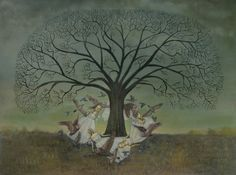 Round the Oak Tree, by Swan Bones Theater.