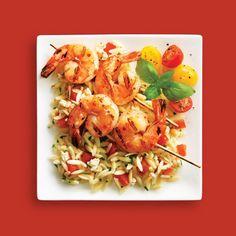 Thai Fusion Shrimp & Orzo Salad