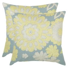 I pinned this Fleming Pillow from the Comfortable Luxury event at Joss and Main! $52.